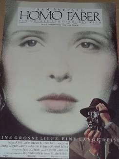 Filmplakat Homo Faber