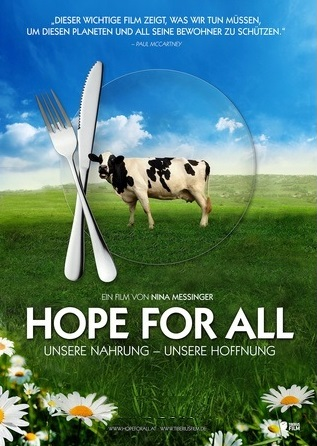 Filmplakat HOPE FOR ALL - Unsere Nahrung - Unsere Hoffnung