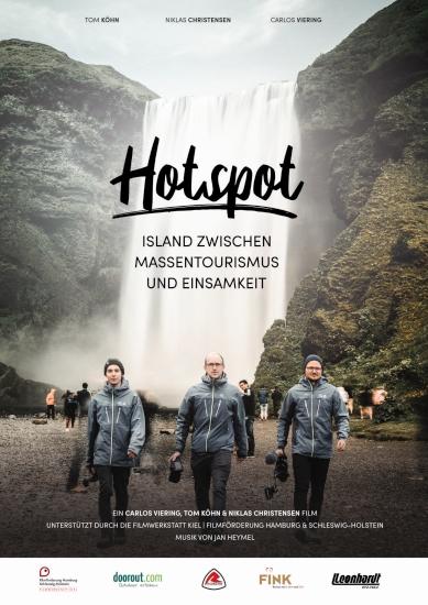 Filmplakat HOTSPOT - Island zwischen Massentourismus und Einsamkeit