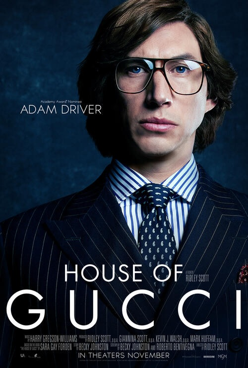 Filmplakat HOUSE OF GUCCI