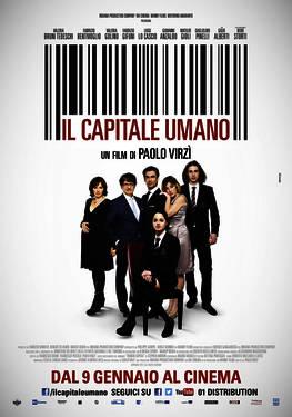 Filmplakat Die süße Gier - IL CAPITALE UMANO - ital. OmU