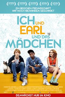 Filmplakat ICH und EARL und das MÄDCHEN