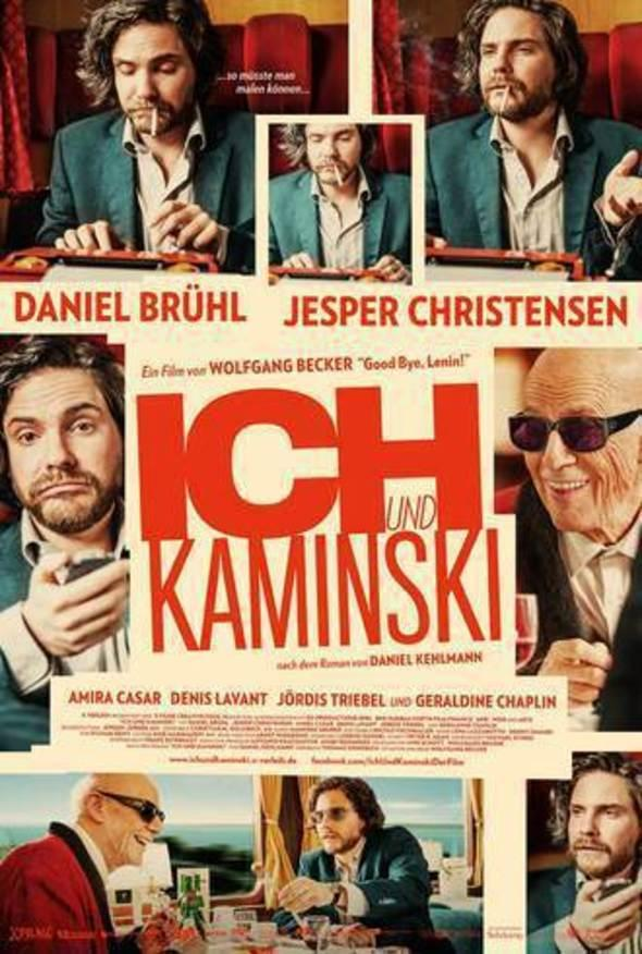 Filmplakat ICH UND KAMINSKI