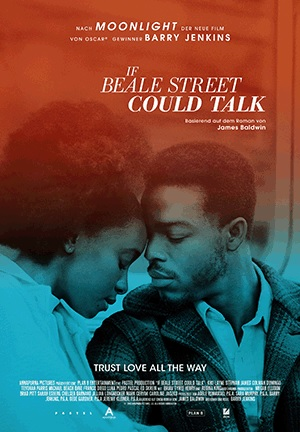 Filmplakat IF BEALE STREET COULD TALK
