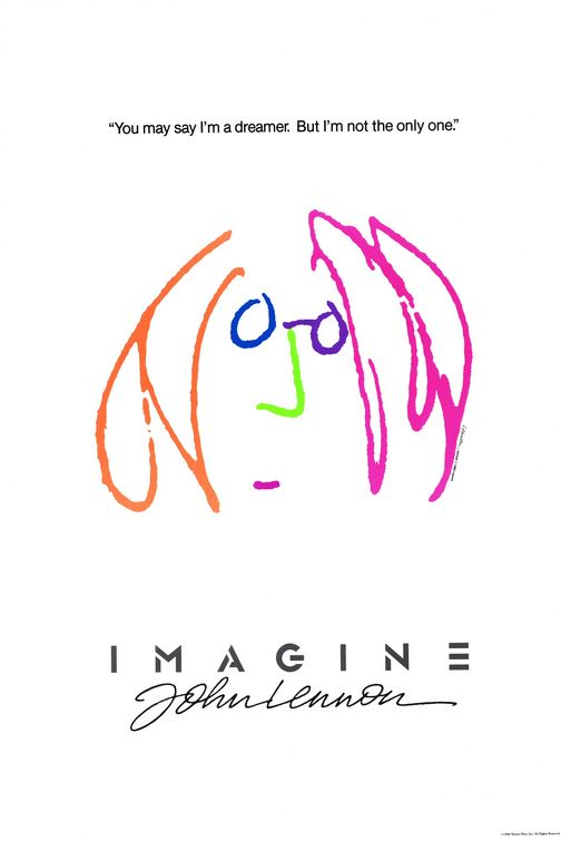Filmplakat IMAGINE - John Lennon (OmU)