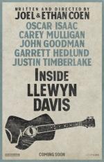 Filmplakat INSIDE LLEWYN DAVIS - engl. OmU