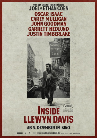 Filmplakat INSIDE LLEWYN DAVIS