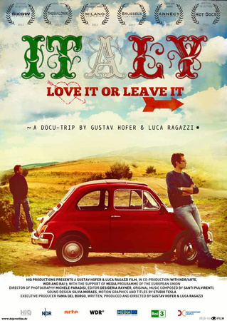 Filmplakat ITALY - LOVE IT OR LEAVE IT! - ital. OmU