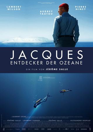 Filmplakat JACQUES - Entdecker der Ozeane