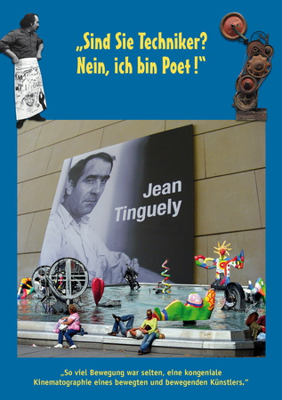 Filmplakat JEAN TINGUELY - schweiz./franz. OmU