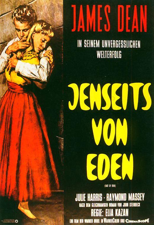 Filmplakat Jenseits von Eden