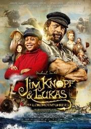 Filmplakat Jim Knopf und Lukas, der Lokomotivführer