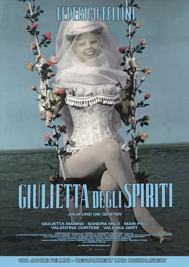 Filmplakat Julia und die Geister - Giulietta degli spiriti - ital. OmU