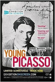 Filmplakat EXHIBITION ON SCREEN: Der junge Picasso - engl. OmU