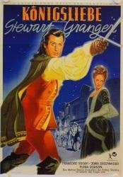 Filmplakat Königsliebe - Graf von Königsmarck und seine Liebe zu  Sophie Dorothea