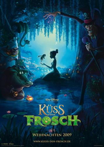 Filmplakat Küss den Frosch