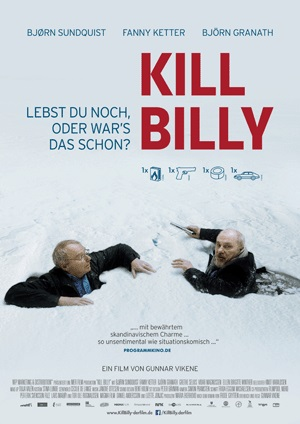 Filmplakat KILL BILLY - norweg. OmU - Vorpremiere