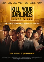Filmplakat KILL YOUR DARLINGS - engl. OmU