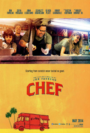 Filmplakat KISS THE COOK - CHEF - engl. OmU