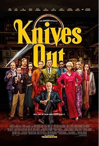 Filmplakat KNIVES OUT - engl. OmU