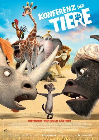 Filmplakat Konferenz der Tiere