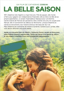 Filmplakat LA BELLE SAISON - franz. OmU