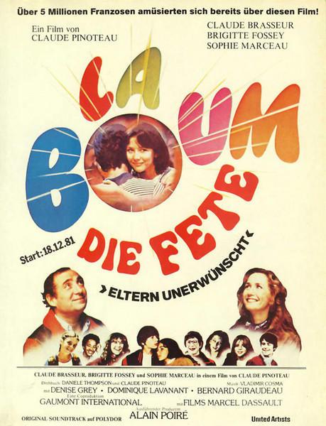 Filmplakat LA BOUM