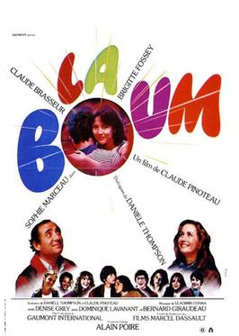 Filmplakat LA BOUM - franz. OmU