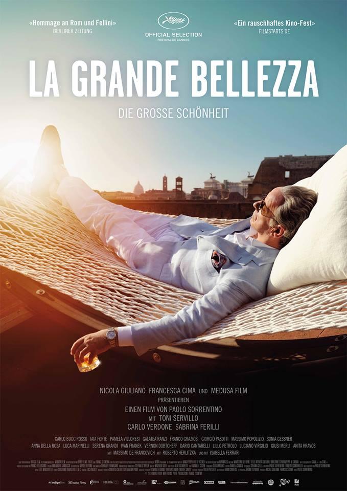 Filmplakat LA GRANDE BELLEZZA - ital. OmU