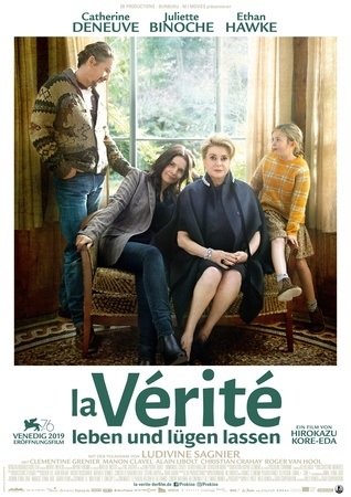 Filmplakat LA VÉRITÉ - Leben und Lügen lassen