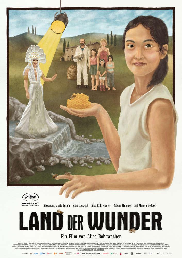 Filmplakat LAND DER WUNDER