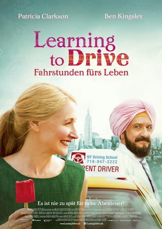 Filmplakat LEARNING TO DRIVE - Fahrstunden fürs Leben