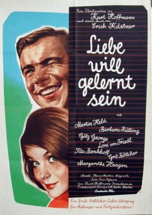 Filmplakat Liebe will gelernt sein