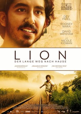 Filmplakat LION - Der lange Weg nach Hause