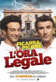 Filmplakat L Ora Legale - Ab heute sind wir ehrlich - ital. OmU