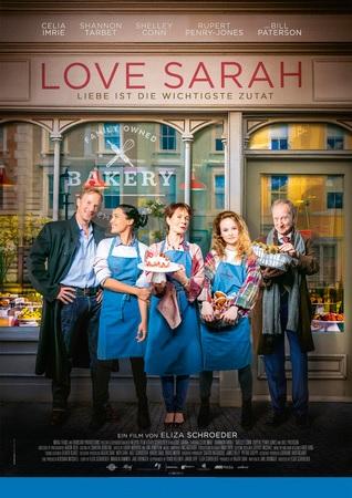 Filmplakat LOVE SARAH - Liebe ist die wichtigste Zutat