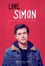 Filmplakat LOVE SIMON - engl. OmU