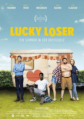 Filmplakat LUCKY LOSER - Ein Sommer in der Bredouille