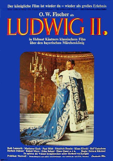 Filmplakat LUDWIG II - Glanz und Elend eines Königs