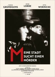 Filmplakat M - Eine Stadt sucht einen Mörder - restaurierte Fassung!
