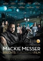 Filmplakat Mackie Messer – Brechts Dreigroschenfilm