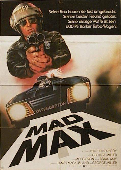Filmplakat MAD MAX (1979)