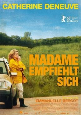 Filmplakat Catherine Deneuve: Madame empfiehlt sich