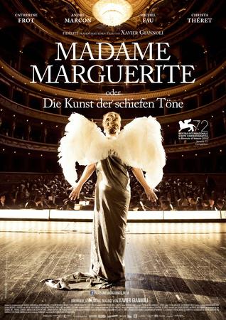 Filmplakat MADAME MARGUERITE oder die Kunst der schiefen Töne