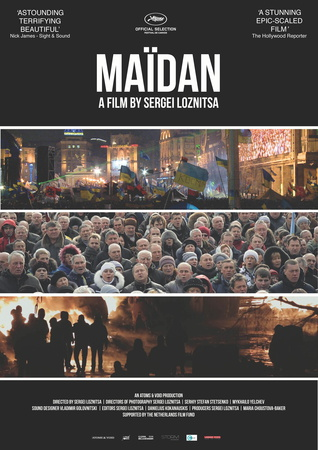 Filmplakat MAIDAN - ukran. OmU