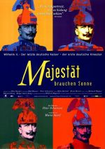 Filmplakat Majestät brauchen Sonne