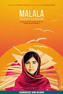 Filmplakat MALALA - Ihr Recht auf Bildung