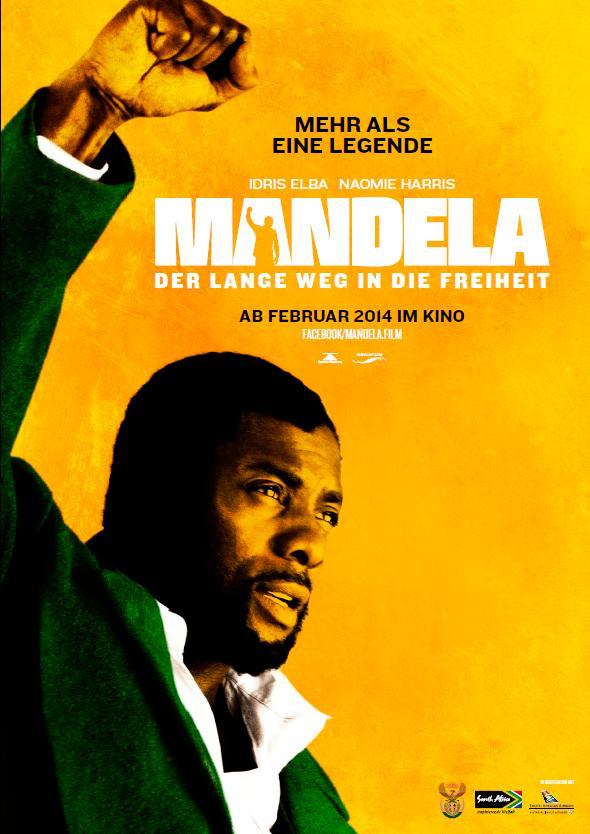 Filmplakat MANDELA - Der lange Weg zur Freiheit