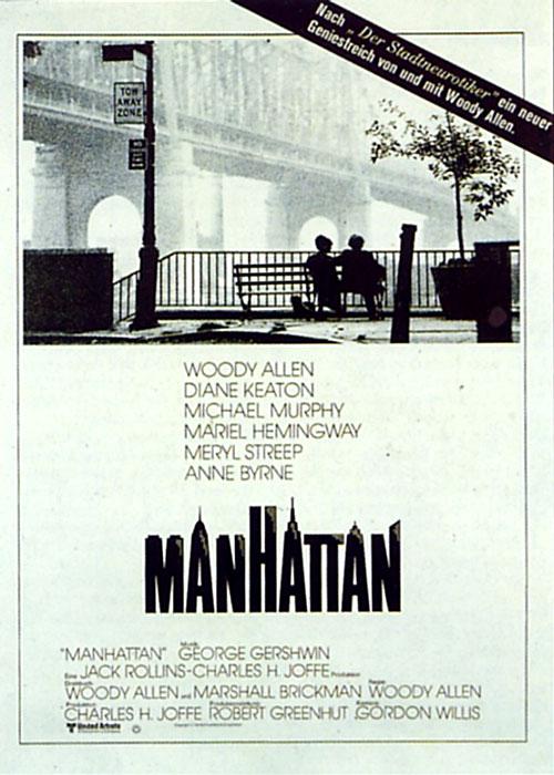 Filmplakat Manhattan