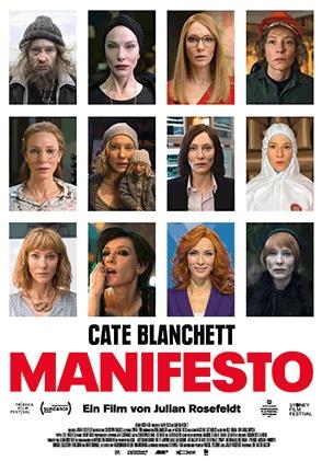 Filmplakat MANIFESTO